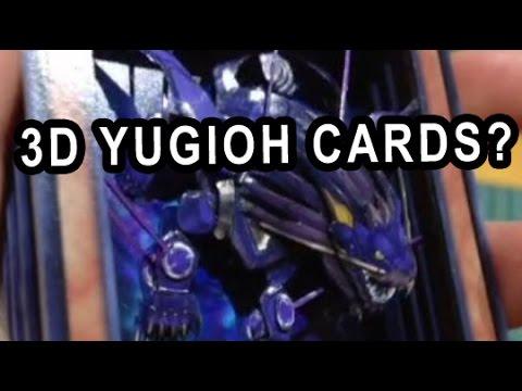 3D YUGIOH CARDS! AMAZING!
