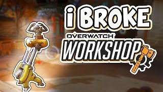 I BROKE THE OVERWATCH WORKSHOP|| (OVERWATCH OWN HEROES)