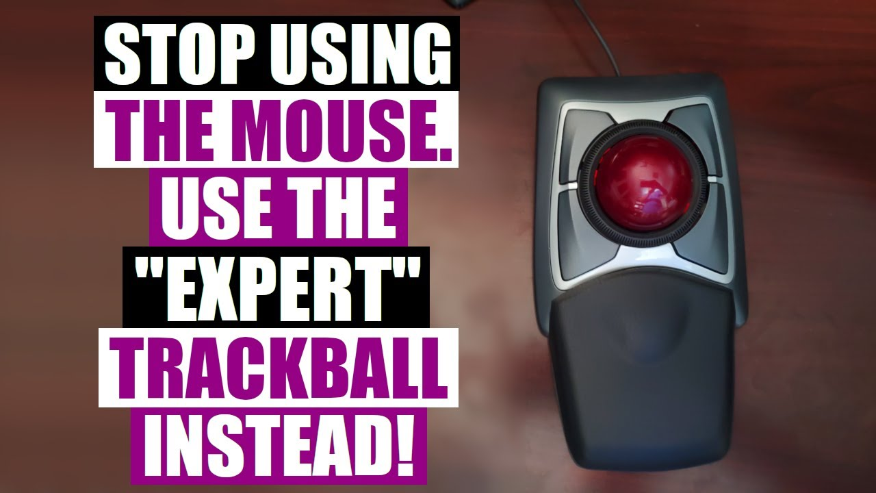 Switch To A Trackball Mouse And Save Your Wrists
