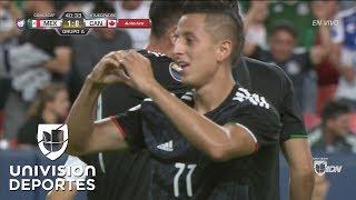 ¡Goool de México! El 'Piojo' Alvarado abre el marcador en Denver
