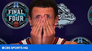 """Jalen Suggs: """"I can't speak. I can't believe that really happened"""" [PRESS CONFERENCE
