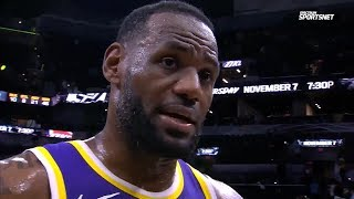 LeBron James REACTS To Dwight Howard DOMINANCE Against Spurs