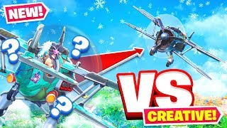 CREATIVE MODE PLANE UPDATE *NEW* Challenge in Fortnite Battle Royale