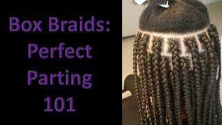 Box Braids: Perfect Parting 101