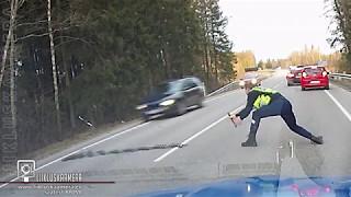 Ukrao je automobil i počeo bježati policiji. Nije mogao ni sanjati da će mu jedan super policajac uraditi OVO! (VIDEO)