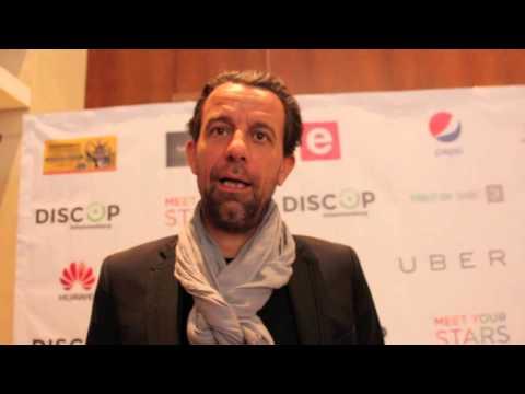 Grégoire Furrer (Montreux Comedy Festival) at Discop Africa Johannesburg 2015