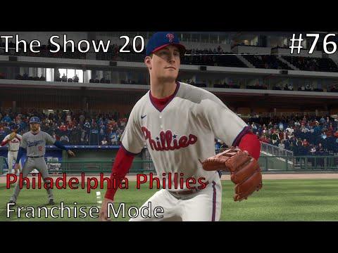 MLB The Show 20 Franchise Mode | Philadelphia Phillies | EP 76 | Luke Williams MLB Debut