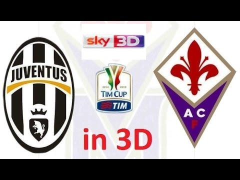 Juventus VS Fiorentina in 3D TIM Cup - PES2015 SKy3D