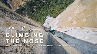 CLIMBING THE NOSE - Jorg Verhoeven's ascent of the most famous route in the world