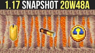 Minecraft 1.17 Snapshot 20w48a Dripstone, Stalagmites & Renewable Lava!