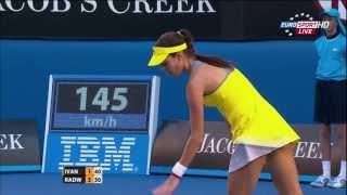 [FULL HD] Radwanska - Ivanovic Australian Open 2013 - 1080p