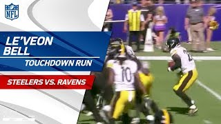 Le'Veon Bell's Powerful TD Set Up by Pittsburgh Fumble Recovery | Steelers vs. Ravens | NFL Wk 4