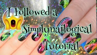 I Tried Following a SimplyNailogical Tutorial