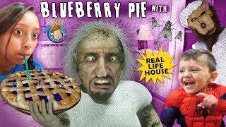 Granny Blueberry Pie got Flies yo