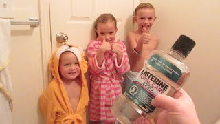 NIGHT ROUTINE: KIDS GETTING READY FOR BED!