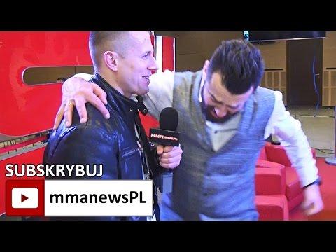 Martin Lewandowski: Gamrot vs Parke oficjalnie. KSW nie zawalczy z UFC o Ergo Arenę (+video)