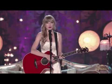 We Are Never Ever Getting Back Together - Taylor Swift live [VH1 Storytellers 2012]