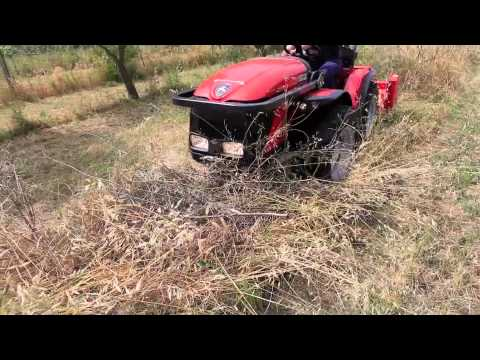 Trattore usato carraro con trincia ferri laterale a for Di raimondo macchine agricole