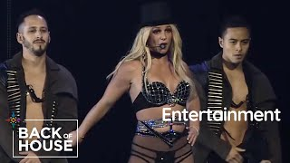 Entertainment - Mohegan Sun Arena Staff Prepares for Britney Spears' Performance   Back of House