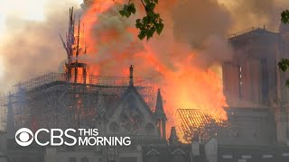 Notre Dame Cathedral devastated by fire in Paris