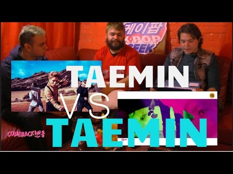 TAEMIN 태민_Drip Drop VS Press Your Number (NON-KPOPFAN) OPPAS 비디오 반응 REACTION!