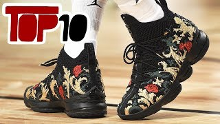 Top 10 Best Shoes of 2018 NBA All Star Weekend
