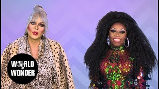 FASHION PHOTO RUVIEW: All Stars Season 4 Ep 1 with Raja and Asia O'Hara!