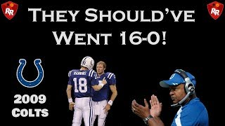 The 'Almost Perfect' 2009 Indianapolis Colts