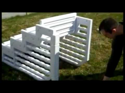 Easy above ground pool steps youtube - Steps to build an inground swimming pool ...