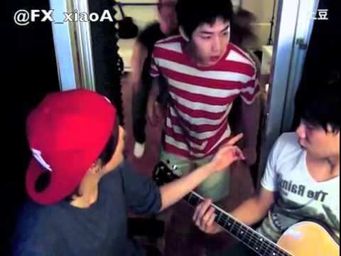 Amber Liu singing Henry Lau's song