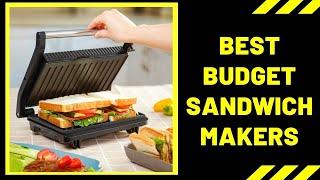Best Sandwich Makers in 2020 - Top Sandwich Maker Reviews