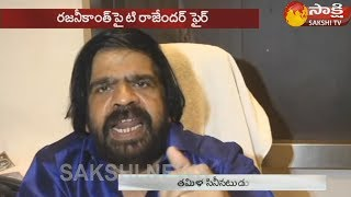 T. Rajendar makes strong comments on Rajinikanth..