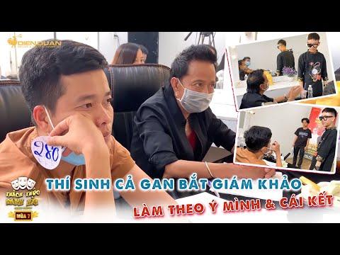 Thách thức danh hài mùa 7   Thí sinh bắt 2 giáo khảo Bảo Chung, Khương Dừa làm theo ý mình & cái kết