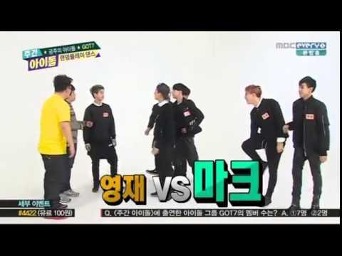 141217 Weekly Idol GOT7 part 1 english subtitle
