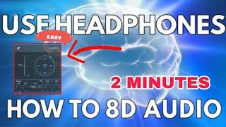 How to make 8D AUDIO [FL Studio]