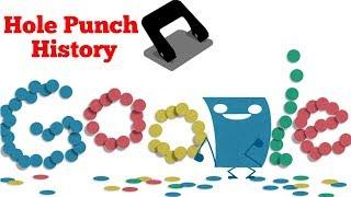 Hole Punch History Google Doodle