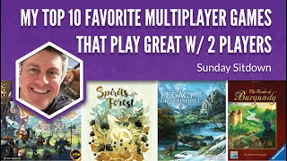 My Top 10 Favorite Multiplayer Games That Play Great with Just 2 Players