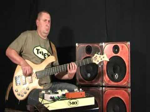 T-Rex Bass Juice Distortion