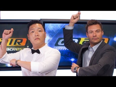 PSY Talks Gangnam Style with Seacrest - PART 2 | Interview | On Air With Ryan Seacrest