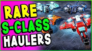 RARE & AMAZING S CLASS SHIP COORDINATES! S 48+8 Haulers & Special Variants | No Man's Sky Guide