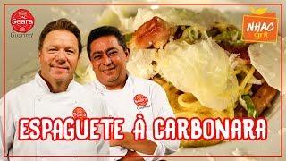 MIX PALESTRAS | Batista | Espaguete à carbonara com Presunto Royal | Momento Gourmet