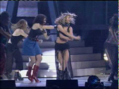 Britney Spears - Baby One More Time and Crazy from Billboard Awards 1999 .mpg