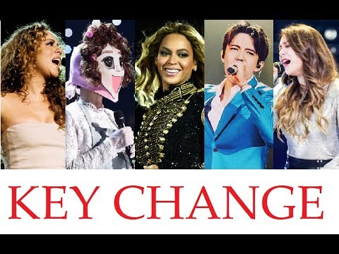 EPIC KEY CHANGE! - FAMOUS SINGERS