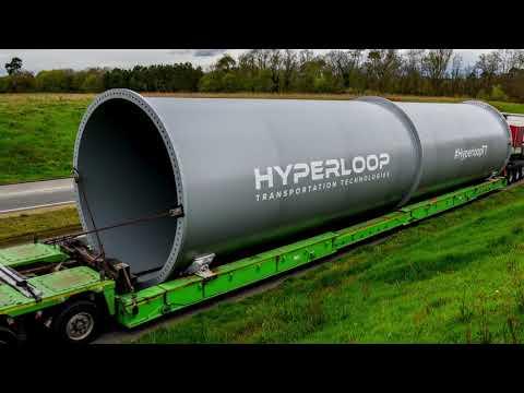 HyperloopTT and Aldar Properties Announce World's First Commercial Hyperloop in the UAE.