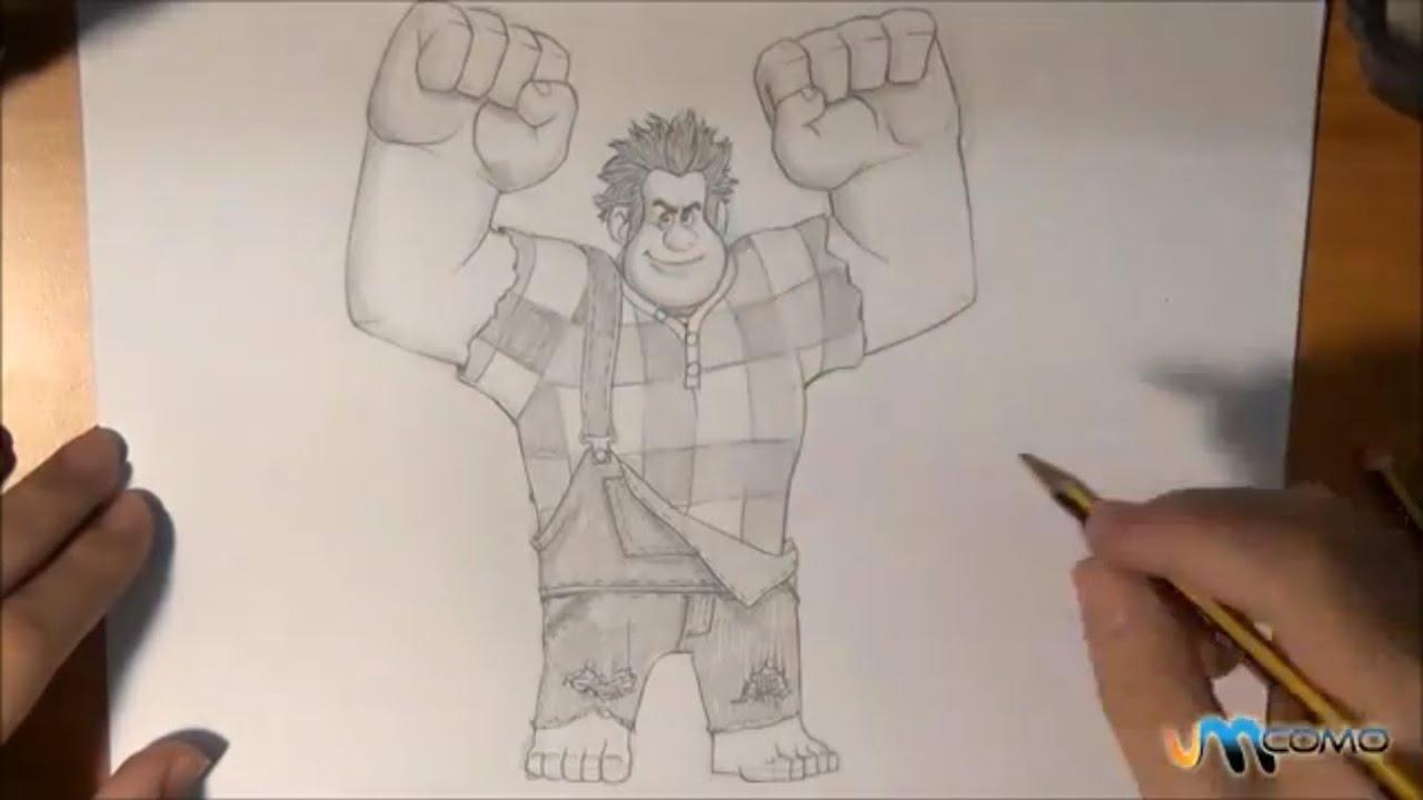 Como Desenhar O Ralph Do Filme Força Ralph