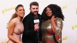 The Voice's Team Blake Share Funny EMBARRASSING Moments & After Show Eats!
