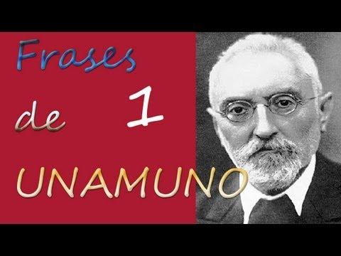 Frases de Unamuno Vol. 1