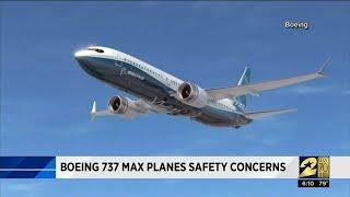 Boeing 737 Max planes safety concerns