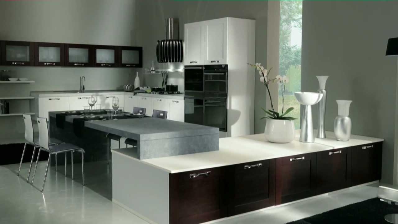Arredamento in stile moderno cucine e design by claris for Cucine e soggiorni moderni