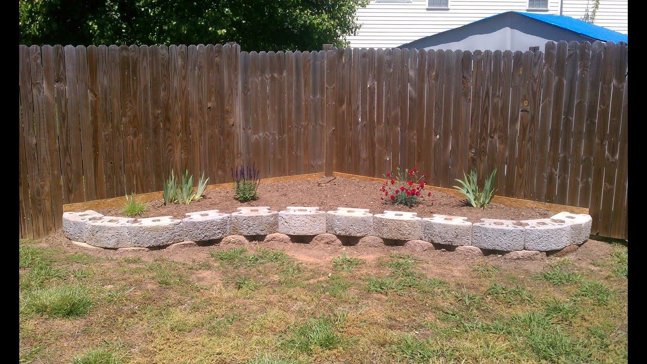 Planter Boxes Along Fence Side Yards